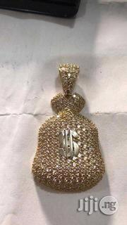 18carat Gold Dollar Pendant   Jewelry for sale in Lagos State, Yaba