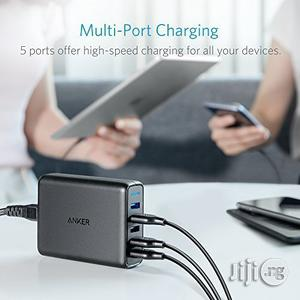 Anker 63W 5-Port USB Wall Charger With Dual Quick Charge 3.0 Ports