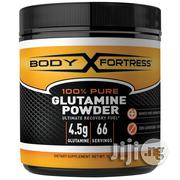 Body Fortress 100% Pure Glutamine Powder, 300 Grams | Vitamins & Supplements for sale in Lagos State, Lagos Mainland