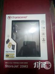 Transcend Portable Hard Drive 1TB | Computer Hardware for sale in Lagos State, Ikeja