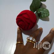 Vera Zircon Micro Paved Gold Wedding and Engagement Ring 03 | Wedding Wear for sale in Lagos State, Lagos Mainland