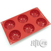 6-cavity Sunflower Silicone Mold For Muffin, Soap, Cupcake, Cookies | Kitchen & Dining for sale in Lagos State, Surulere