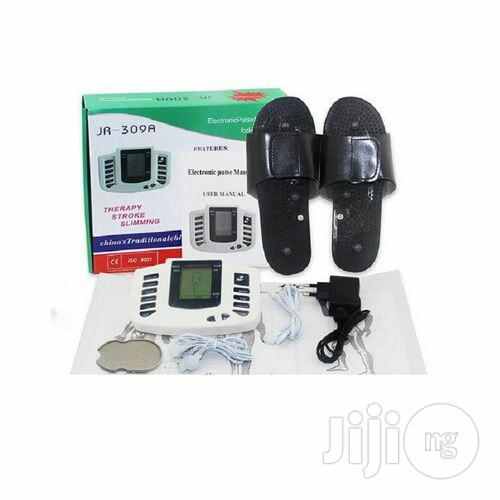 Electronic Body Massager Plus Acupuncture Treatment