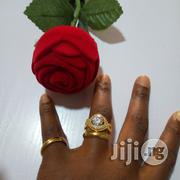 Vera Zircon Micro Paved Gold Wedding and Engagement Ring 04 | Wedding Wear for sale in Lagos State, Lagos Mainland