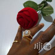 Vera Zircon Micro Paved Gold Wedding And Engagement Ring 05 | Wedding Wear for sale in Lagos State, Lagos Mainland