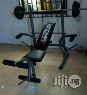 Weight Lifting Bench With Weight   Sports Equipment for sale in Lagos State, Ikeja