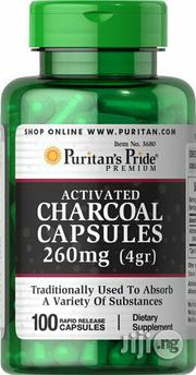 Activated Charcoal for Aiding Digestion and Absorbing Contaminants | Vitamins & Supplements for sale in Lagos State, Victoria Island