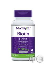Biotin 10000mcg For Fast Hair Growth, Beautiful Skin And Healthy Nails | Hair Beauty for sale in Lagos State, Victoria Island