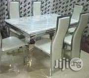 Reliable Marble Dining Table by 6   Furniture for sale in Lagos State, Ikeja