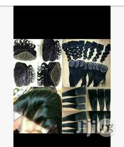Three Parts Human Hair Closures Wholesale   Hair Beauty for sale in Lagos State, Oshodi-Isolo