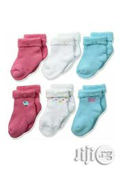 Gerber 6 Pack Unisex Bootie Socks | Children's Clothing for sale in Lagos State, Ikeja
