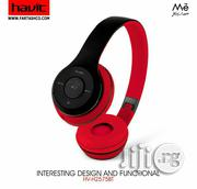 HV-H2575BT Headphone With Bluetooth Function | Headphones for sale in Lagos State