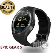 Epic Gear 5 Smart Watch Phone With SIM Card Slot Promo | Smart Watches & Trackers for sale in Edo State, Oredo