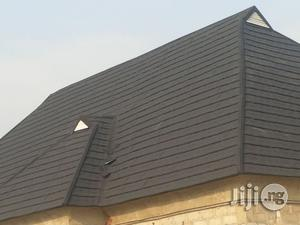 Roofing House With Affordable Stone Coated Step Tiles