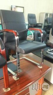 Wooden/Leather Armchairs   Furniture for sale in Abuja (FCT) State, Wuse
