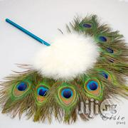 Peacock Bridal Hand Fan | Clothing Accessories for sale in Lagos State, Lagos Mainland