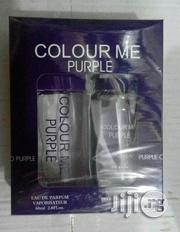 Colour Me- Purple Edition 2n1 Kit Set Perfume + Roll-On- 120ml | Fragrance for sale in Lagos State, Maryland