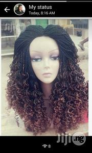 Curly Braided Wig   Hair Beauty for sale in Lagos State, Surulere