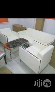 White Sofa Chair   Furniture for sale in Lagos State, Lekki Phase 1