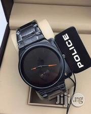 Police Black Crystal Watch   Watches for sale in Lagos State, Surulere