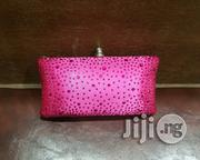 Fushia Diamante Crystal Stone Evening Bag Clutch Purse | Bags for sale in Lagos State, Lagos Mainland