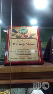 Wooden Plague Award   Arts & Crafts for sale in Lagos State, Ikeja