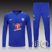 Chelsea FC Home Nike Training Track Suit - Blue | Clothing for sale in Lagos State, Lagos Mainland