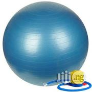 Yoga Exercise Gym Ball With Pump | Sports Equipment for sale in Lagos State, Surulere