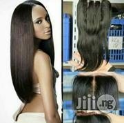 Indian Virgin Straight Plus Frontal | Hair Beauty for sale in Lagos State, Surulere