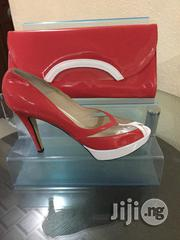 Italian Patent Leather Ladies Shoe and Bag Set | Shoes for sale in Lagos State, Lagos Mainland