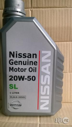 Nissan Genuine Motor Oil 20w50 1 Liter