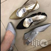 Shining Open Back Wedge Shoe | Shoes for sale in Lagos State, Ikoyi