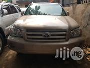 Fresh Tokunbo Toyota Highlander 2006 Gold | Cars for sale in Lagos State, Surulere