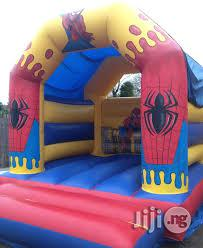 Spider Character Kiddies Bouncing Castle For Rent