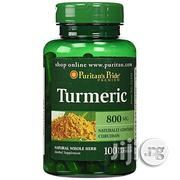 Turmeric 800 Mg- 100 Capsules   Vitamins & Supplements for sale in Lagos State, Surulere