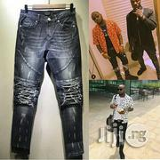 New Designers Ripped Jeans | Clothing for sale in Lagos State, Ojo