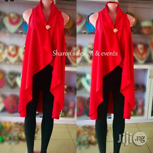 Long Red Jacket (Free Size)