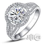 Beautiful Synthetic Diamond Ladies Engagement Ring - Silver | Wedding Wear for sale in Lagos State, Lagos Mainland
