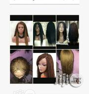 Braided Wig With Closure Bra Length 16inches | Hair Beauty for sale in Lagos State, Lagos Island