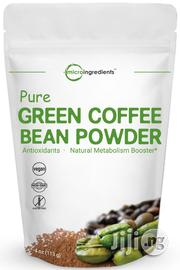 Maximum Strength Premium Pure Green Coffee Bean Extract Powder | Vitamins & Supplements for sale in Lagos State