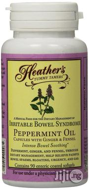 Heather's Tummy Tamers Peppermint Oil Capsules (90 Per Bottle) for IBS | Vitamins & Supplements for sale in Lagos State, Lagos Mainland