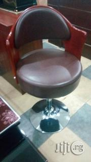 Wooden/Leather Bar Stool | Furniture for sale in Abuja (FCT) State, Wuse