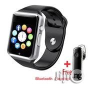 Bluetooth Smart Watch A1 Touch Screen Smartwatch Phone With Sim Card | Smart Watches & Trackers for sale in Lagos State, Lagos Mainland