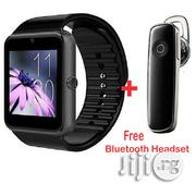 Touch Screen Smart Wrist Watch + Free Bluetooth 4.1 Stereo Headset | Smart Watches & Trackers for sale in Lagos State, Lagos Mainland