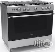 Midea 5 Burner Gas Cooker-Silver:90X60 -36lmg5g024-S | Restaurant & Catering Equipment for sale in Lagos State, Lagos Mainland