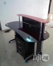 Durable Glass Office Reception Table   Furniture for sale in Lagos State, Lekki Phase 1