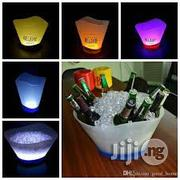 Champagne Bucket Color Rechargeable Plastic LED | Home Accessories for sale in Lagos State, Lagos Island