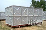 Hot Dip Galvanized Pressed Stainless Steel Panel Sectional Water Tank | Manufacturing Equipment for sale in Lagos State, Lagos Mainland