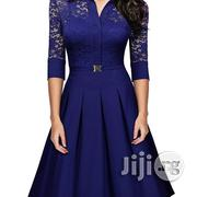 Lace Retro Blue | Clothing for sale in Lagos State, Lagos Mainland