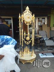 Golden Standing Clock | Home Accessories for sale in Lagos State, Ikeja